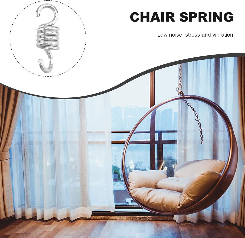 7 mm 1 molla di trazione per sedia sospesa e amaca Yardwe in acciaio inox 440 lbs per Porch Swing