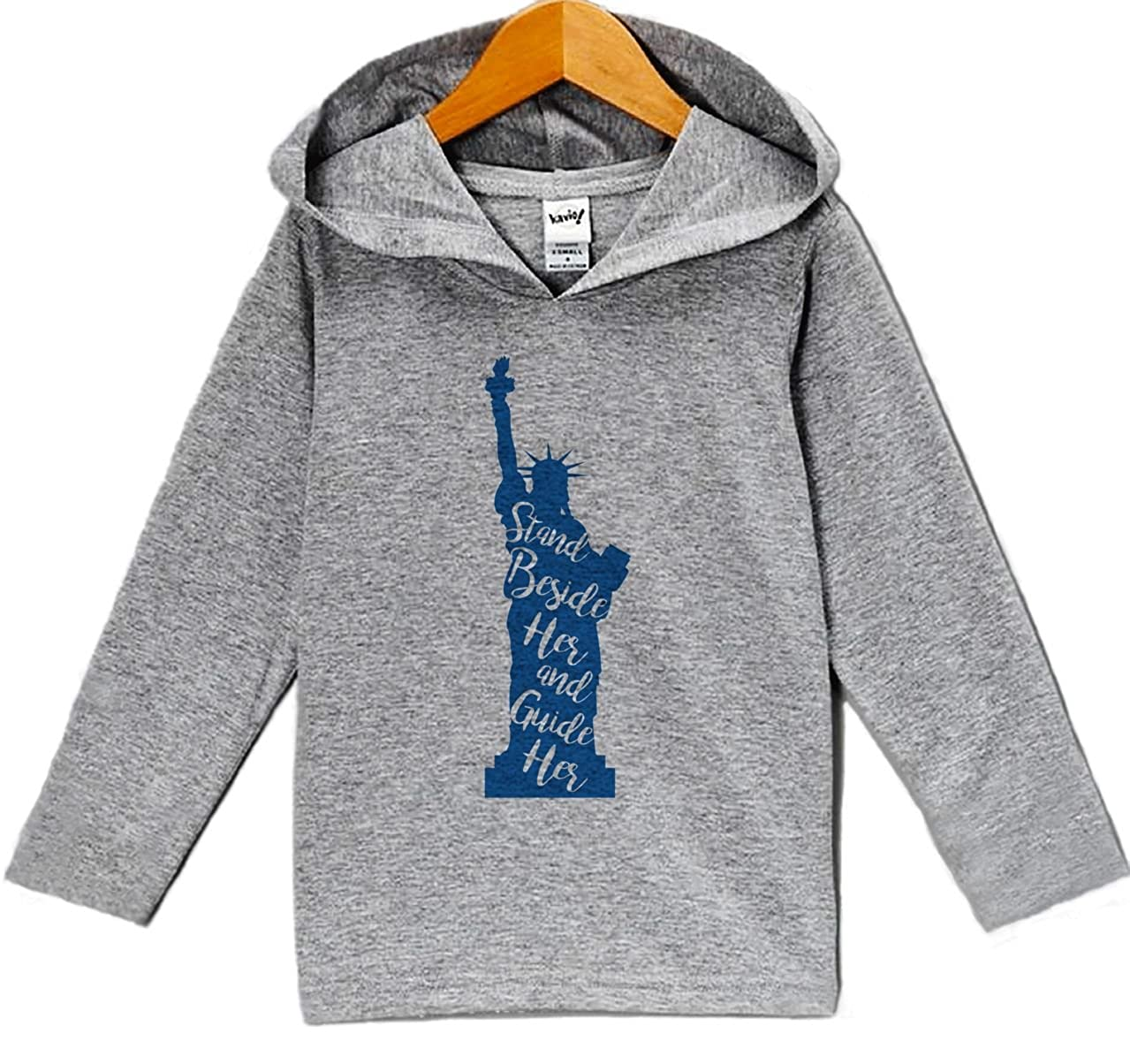 Custom Party Shop Kids Statue of Liberty 4th of July Hoodie Pullover