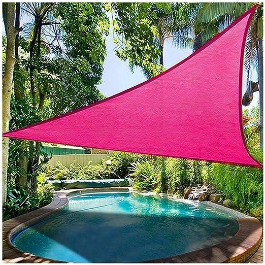 XCJ - Parasol Triangular, Resistente al Agua, protección UV, Resistente al Agua, Grado Comercial, Parasol para Patio, terraza, pérgola: Amazon.es: Jardín