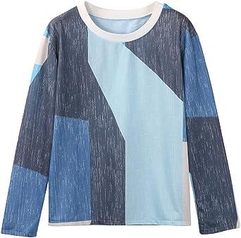 Camisetas Yoga Mujer Ronamick Lunares O Cuello Blusa Blanca Tops De Mujer Lunares O Cuello Camisa Transparente Mujer (Multicolor,XL): Amazon.es: Iluminación