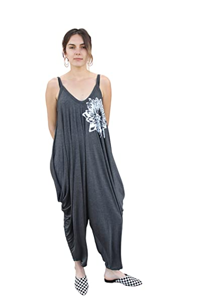 Amazon.com: Blonde Peacock Womens Lotus Yoga Jumpsuit ...