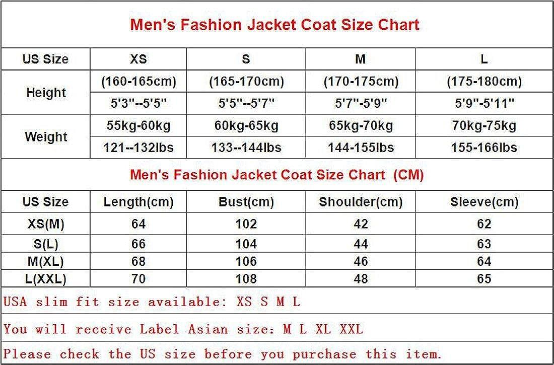 Jeansian Men S Fashion Faux Leather Multi Pockets Jacket Coat 9566