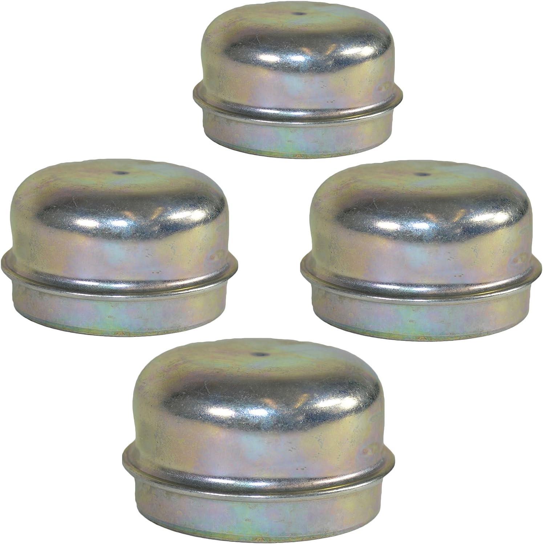 Replacement 50mm Plastic Wheel Hub Cap Trailer Bearing Dust Cover 2 Pack