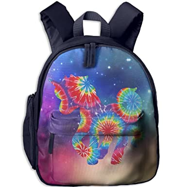 Amazon Com Tie Dye Unicorn Toddler Kids Backpack Preschool