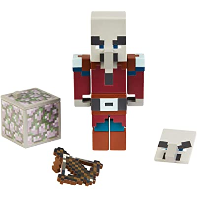 Minecraft Comic Maker Villager Action Figure: Toys & Games