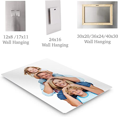 Smile Art Design Custom Metal Personalized Photo Wall Decor Picture Metal Print Put Your Photo on Metal Personalized Photo Prints Custom Photo Gift Wall Art Ready to Hang
