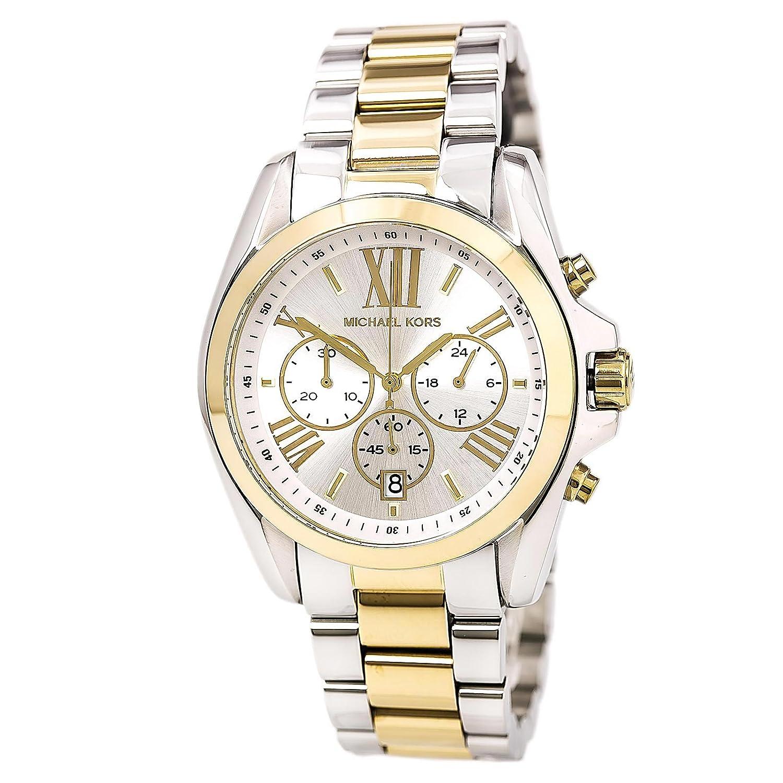 Michael Kors Women's Mk5627 Bradshaw Gold/Silver Watch by Michael+Kors
