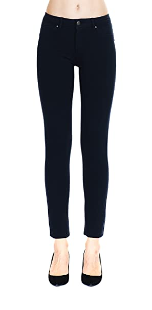 5a2c6588eddca Megan apparel Women's Black Color Super Comfy Stretch Denim Skinny Jeans ,Black,1