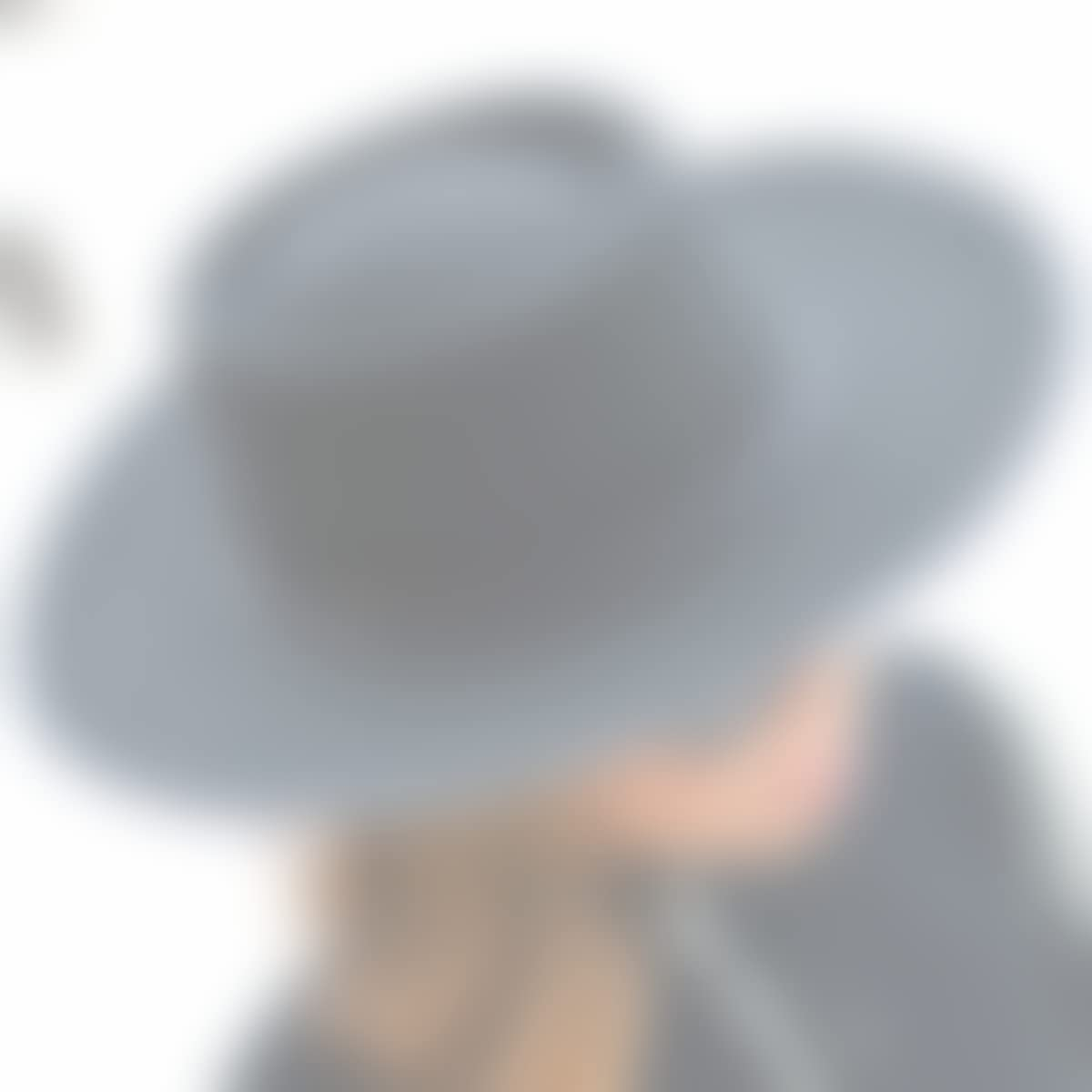 Amazon.com: RACEU ATELIER Black Billy Hat - Wide Brim Fedora Hat - 100% Wool Felt - Fedoras & Trilby Hats - Water Resistant - Unisex - Cowboy Hat: Handmade