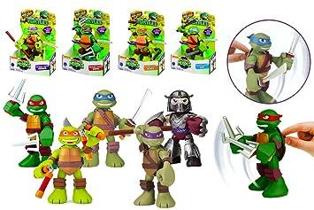 Tortugas Ninja HSH - Figura con Sonidos, 15 cm - Don: Amazon ...