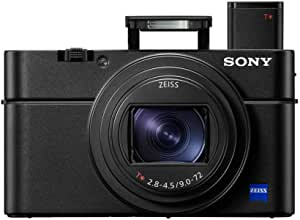Sony RX100 VI 20.1 MP Premium Compact Digital Camera w/ 1-inch Sensor, 24-200mm ZEISS Zoom Lens and pop-up OLED EVF (DSCRX100M6/B)