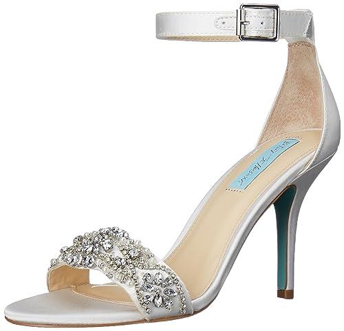 5474917cd238 Betsey Johnson Blue Women s Sb-Gina Dress Sandal  Amazon.co.uk ...