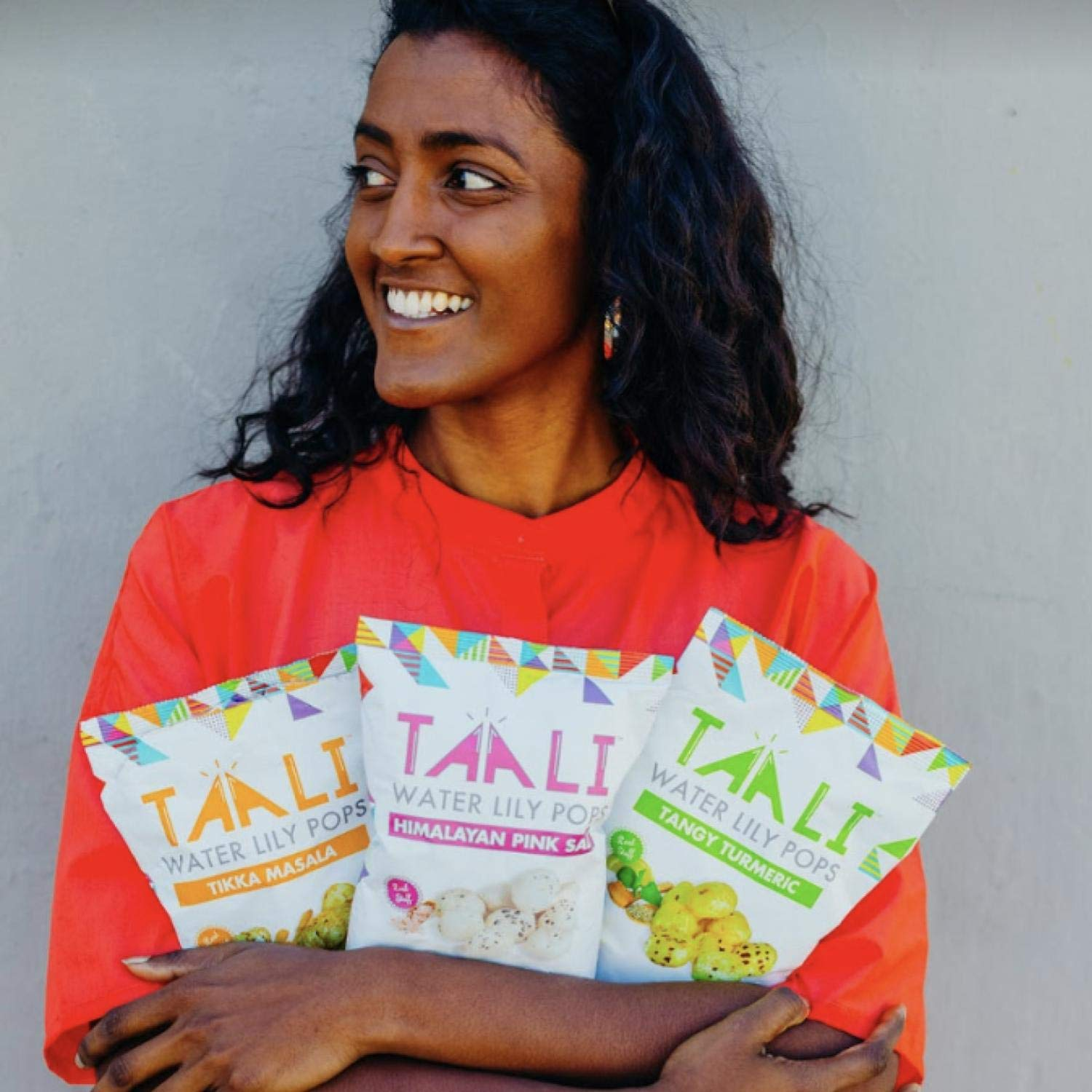 Taali Variety Pack Water Lily Pops (4-Pack) - Four Delicious Flavors. Now with Sriracha! | Protein-Rich Roasted Snack | Non GMO Verified - 2.3 oz Multi-Serve Bags by Taali (Image #6)