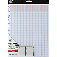 Happy Planner Big Fill Paper 40/Pkg-Teacher Checklist