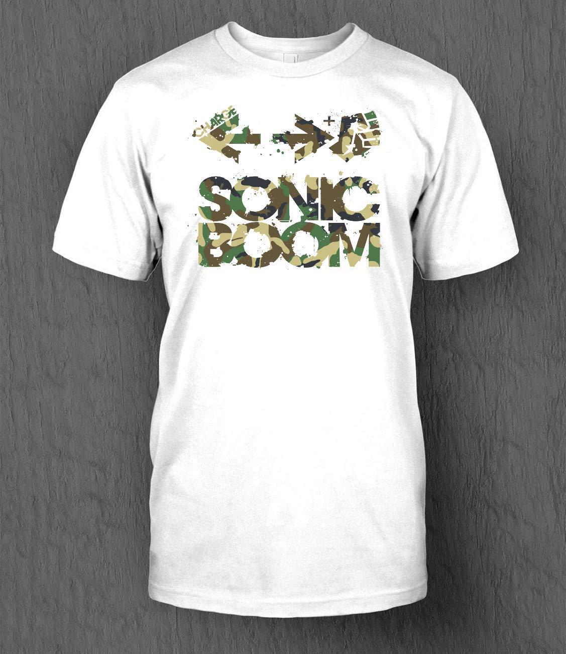 Amazon.com: Sonic Boom Command - Camo 24 Shirt Gifr For Men ...