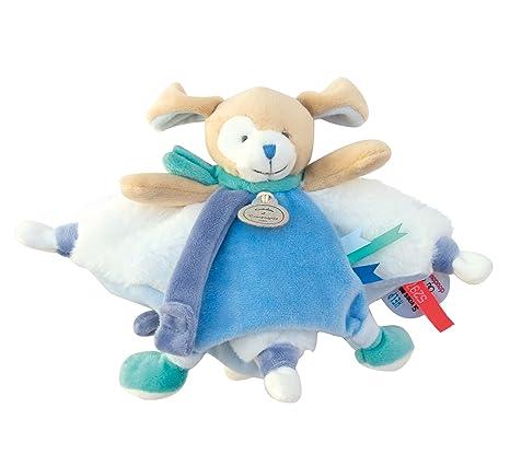 Doudou et Compagnie Tatoo Doudou perro azul: Amazon.es: Bebé