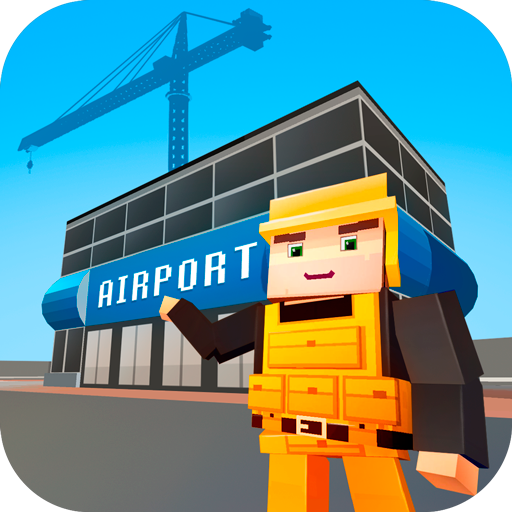 Virtual Airport Construction Crew: City Building Simulator