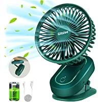 Gitsiee Rotatable Personal Fan with 3 Speeds