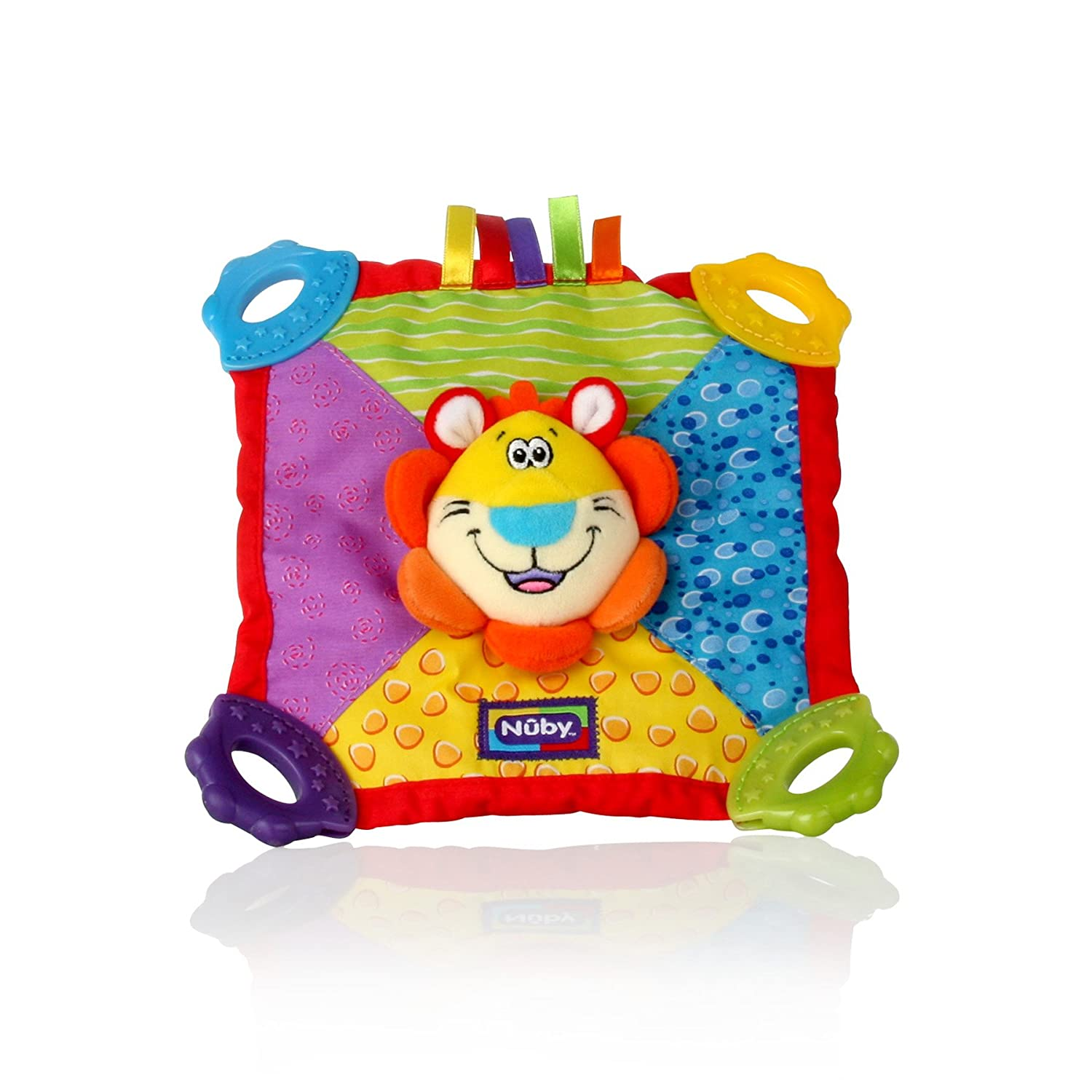 Nuby Plush Teether Blanket Lion 535668LN