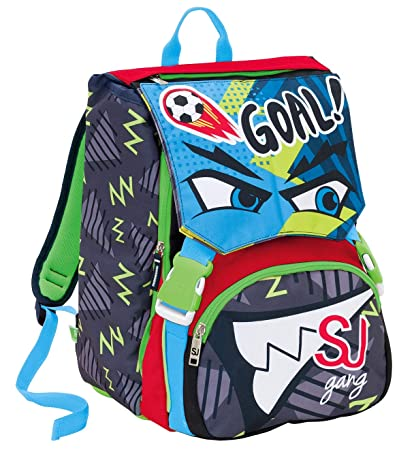 nuovi stili 3ce4c a18a1 SJ GANG Zaino Sdopp.Big Facce Da Children's Backpack, 41 cm ...