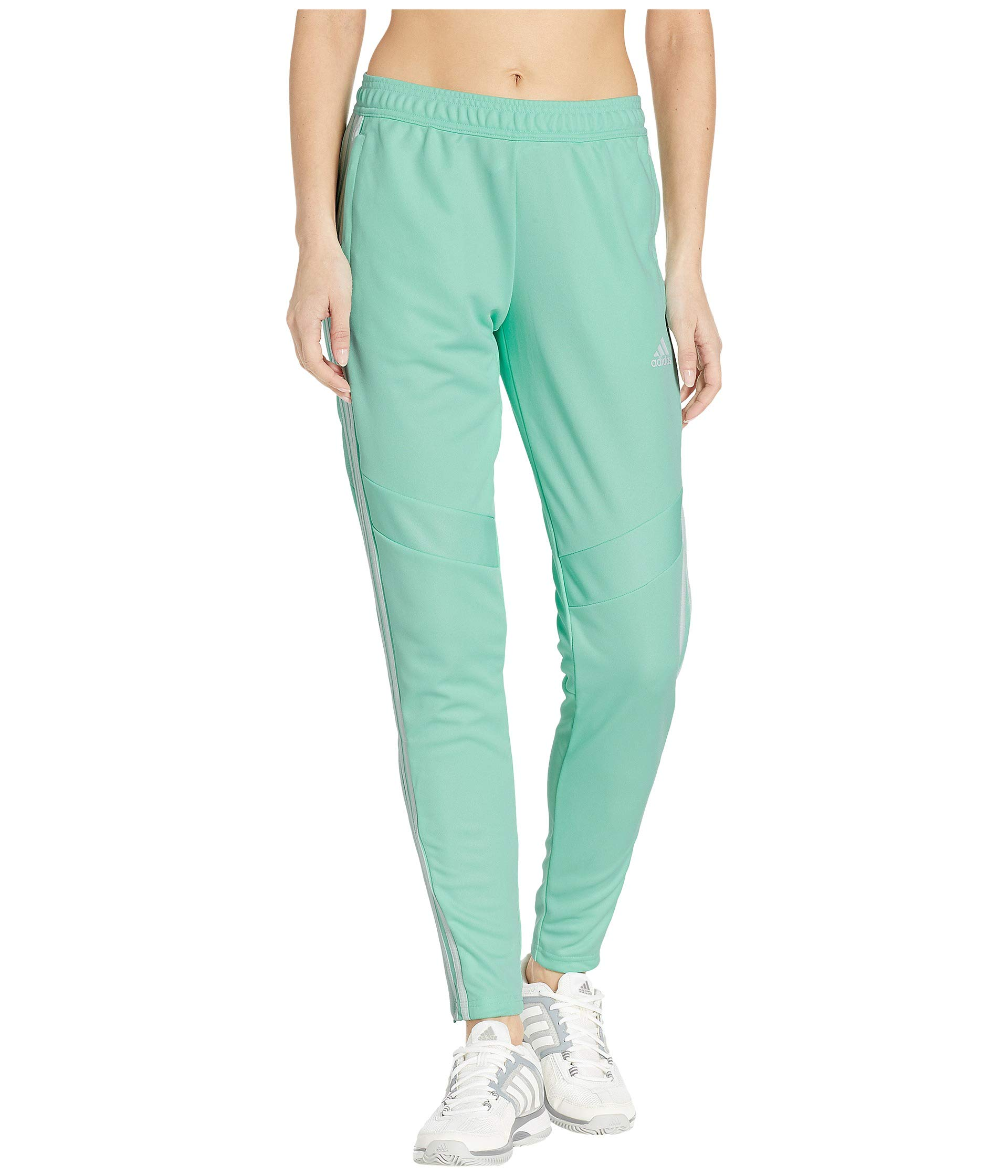 adidas Women's Tiro '19 Pants Clear Mint/White X-Large 30 by adidas