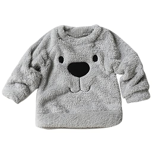 a6e37c0db Amazon.com  Jchen(TM) Clearance Thick Winter Warm Coat Cartoon Bear ...