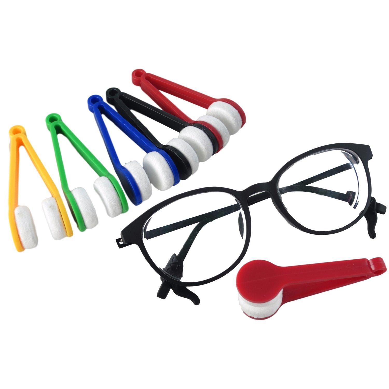 5点Eyeglassブラシクリーナーサングラスクリーナークリーニングクリップ5色   B076TY63CY