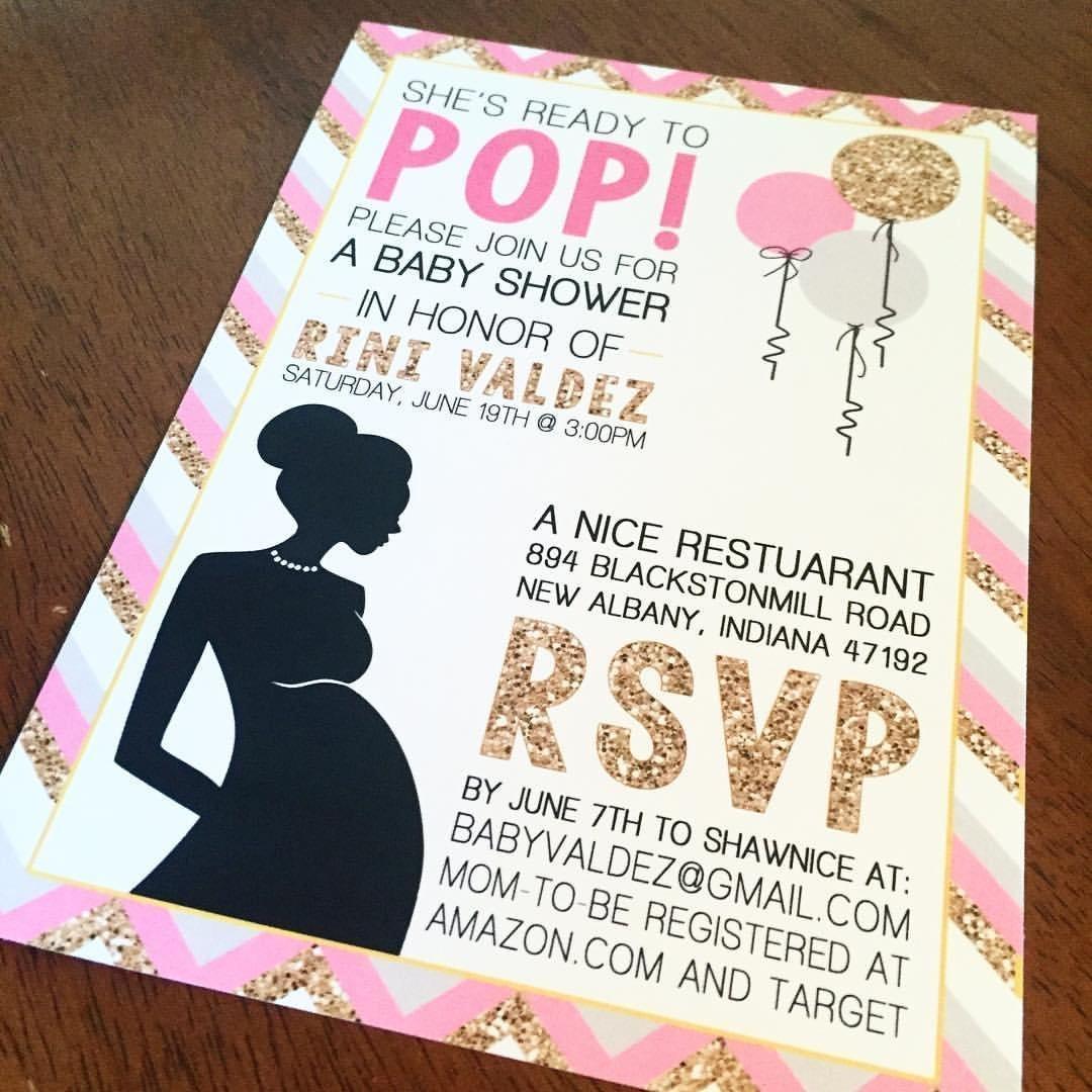 Amazon.com: Ready to Pop! Baby Shower Invitations: Handmade