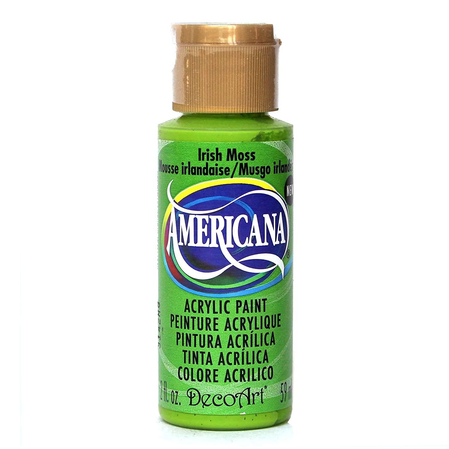 Deco Art Americana Acrylic Multi-Purpose Paint, Irish Moss DecoArt DA312-3