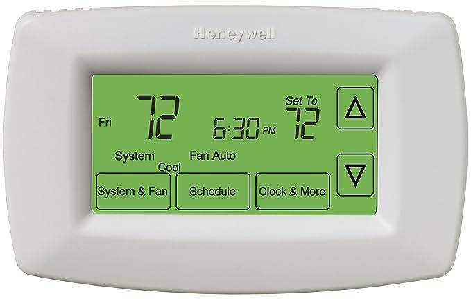 Honeywell ret97 C0d1005/U pantalla táctil de 7 días programable termostato por Honeywell