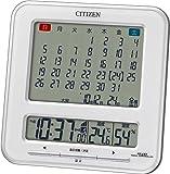 CITIZEN ( シチズン ) 電波 目覚まし 時計 パルデジットカレンダーS 8RZ103-003
