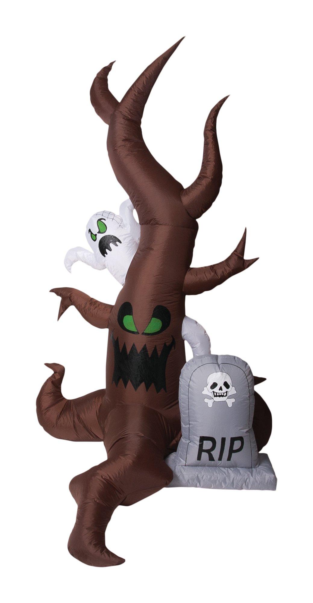 Morbid Enterprises Ghost Tree Inflatable Halloween Decor, Multi, One Size