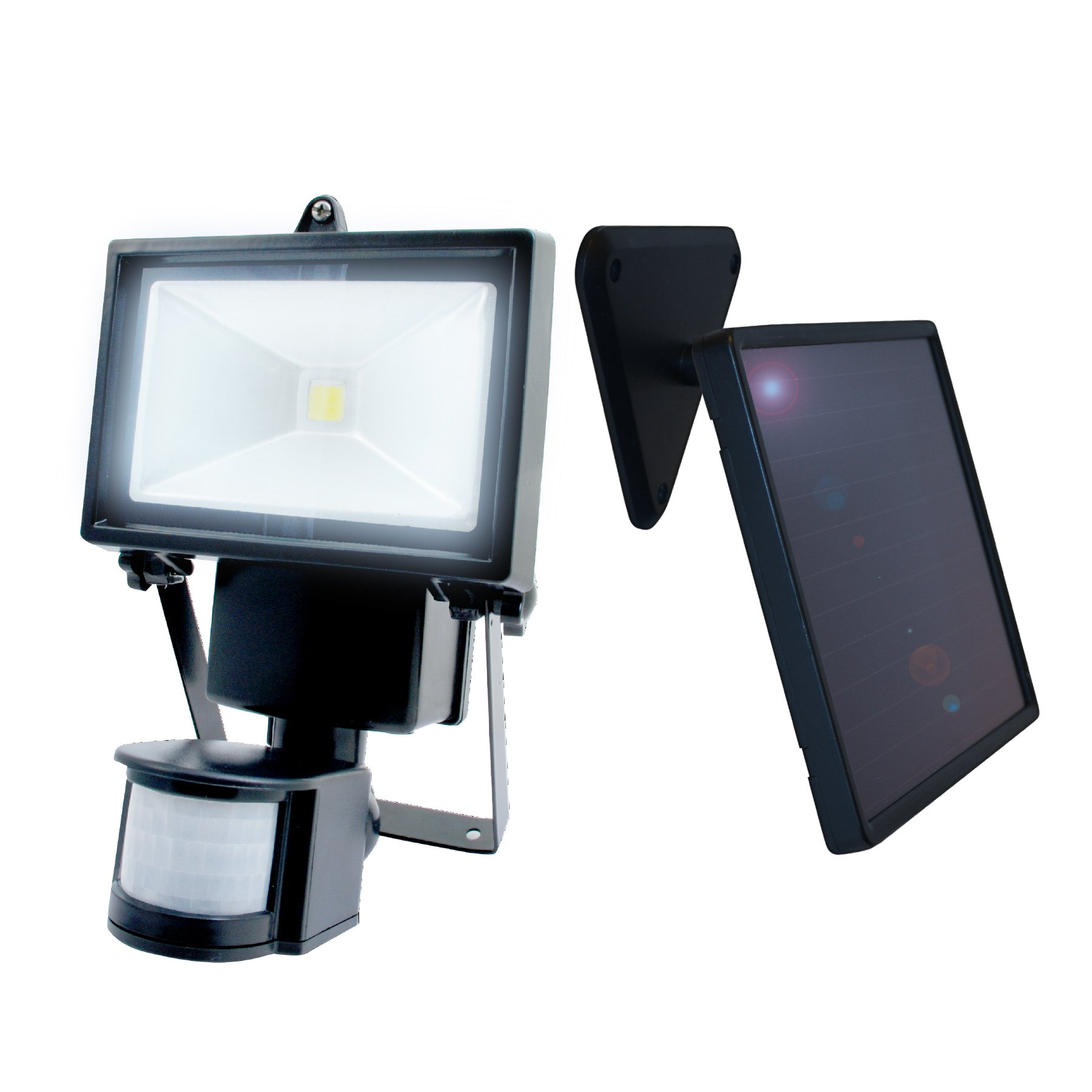 Nature Power 22260 Solar Motion Sensing Security Light with Advance LED Technology