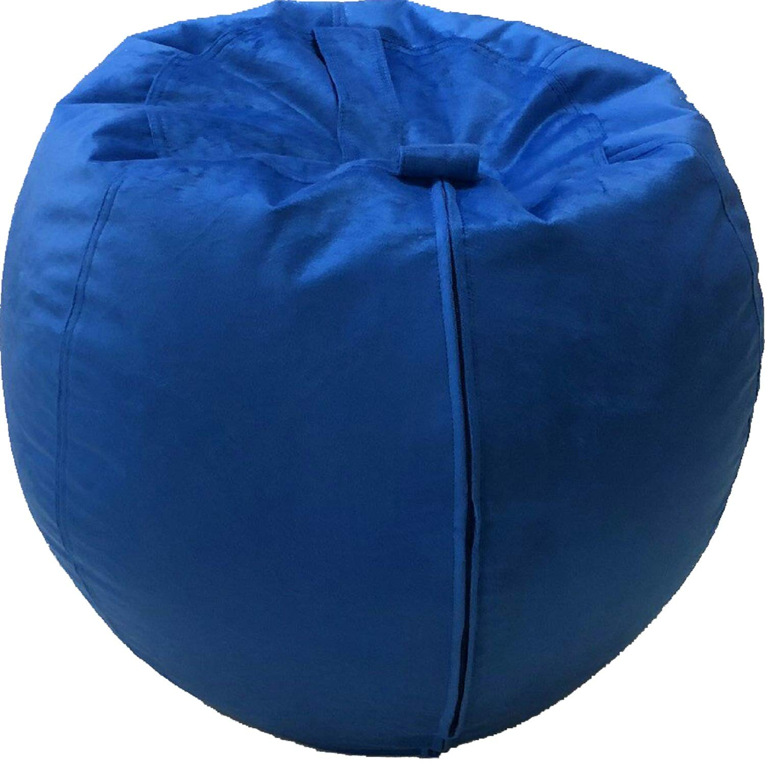 Bean Bag Covers Only Royal Blue 40 Stuffed Animal Storage Premium Velvet Extreme Soft Perfect Storage Solution for Pillows//Toys//Blankets 40 Inches
