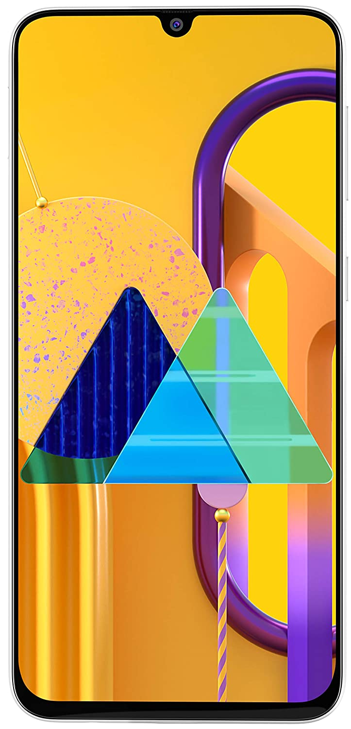 3. Samsung Galaxy M30s (White, 4GB RAM, 64GB Storage)