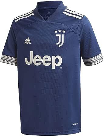 adidas Juve A JSY Y Camiseta 2ª Equipación Juventus FC 2015/2016 Niños: Amazon.es: Deportes y aire libre