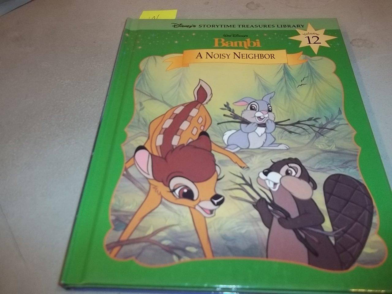 Walt disneys bambi a noisy neighbor disneys storytime treasure walt disneys bambi a noisy neighbor disneys storytime treasure library vol 12 walt disney 9781579730086 amazon books altavistaventures Image collections