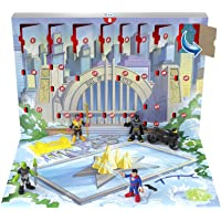 Fisher-Price Imaginext DC Super Friends Advent Calendar, 24 Mystery Toys Including Figures, Accessories and a Vehicle…