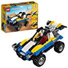 LEGO 31087 Creator 3in1 Dune Buggy Off Roader, Plane and Quad Bike Building Set, Vehicle Toys for Kids 6 Years Old and Older