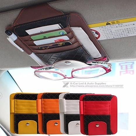 AUDEW Coche Visera Organizador 5-Pocket Almacenamiento de ...