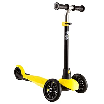 Amazon.com: Oxelo B1 – 3 ruedas plegable Kick Scooter para ...