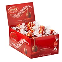 60-Count Lindt LINDOR Milk Chocolate Truffles 25.4oz. Deals
