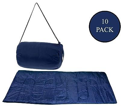 Amazon com : Moda West 10 Pack - Wholesale Lightweight Sleeping Bags