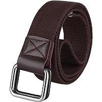 ZORO Cotton belt for men, belts for men under 200, gift for gents, belt for men stylish, gents belt, mens belt tan, blue, green, brown and khaki color CB40-40-