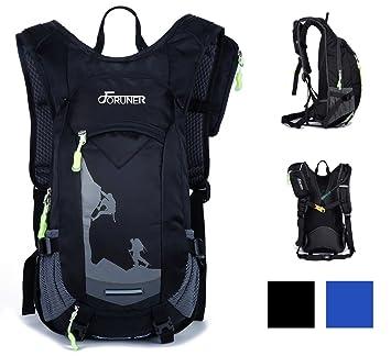 FORUNER Mochila para ciclismo, 20 litros, mochila impermeable para bicicleta, senderismo, acampadas