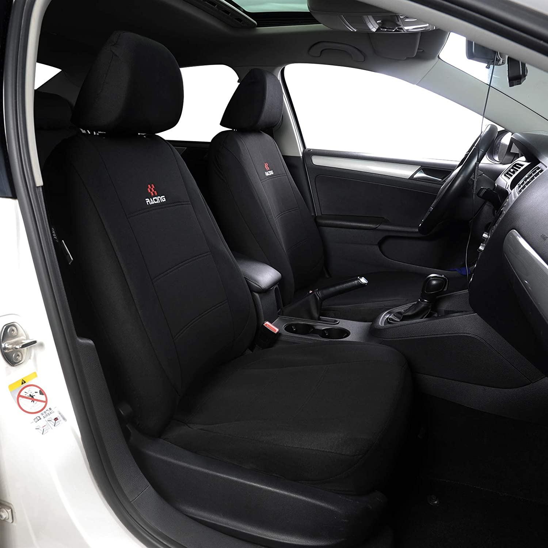 WOLTU AS7315sz Sitzbez/üge Sitzbezug Auto Schonbez/üge universal Gr/ö/ße schwarz