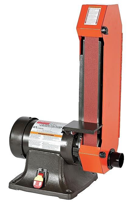 Belt Grinder, 1/2HP, 120/240, 5 0/2 5A, 1x42 - - Amazon com