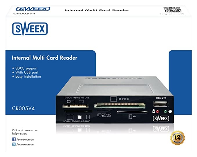 SWEEX NB000010 COMPACT FLASH CARD READER DRIVERS WINDOWS 7