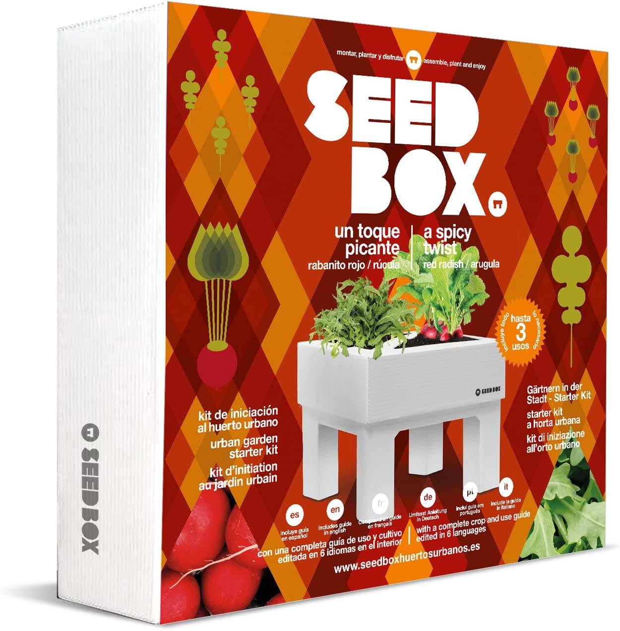 SeedBox Seed Box SBCOTP - Toque Picante