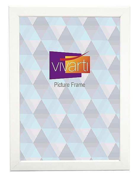 Thin Matt White Picture Frame 24 X 30 Cm Amazoncouk Kitchen Home